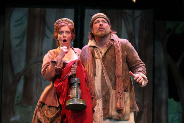 "with Evan Harrington in New Repertory Theatre's ""Into the Woods"""