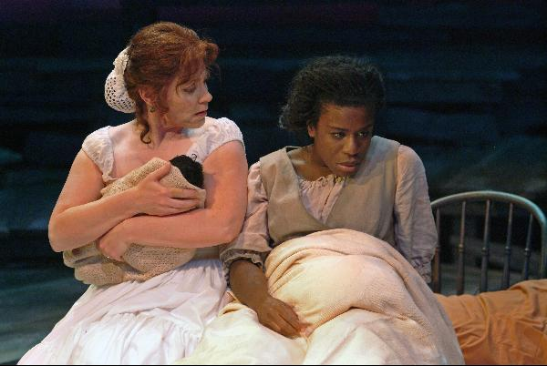 "with Uzo Aduba in New Repertory Theatre's ""Dessa Rose"""