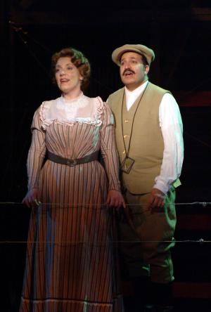 "with Robert Saoud in New Repertory Theatre's ""Ragtime"""