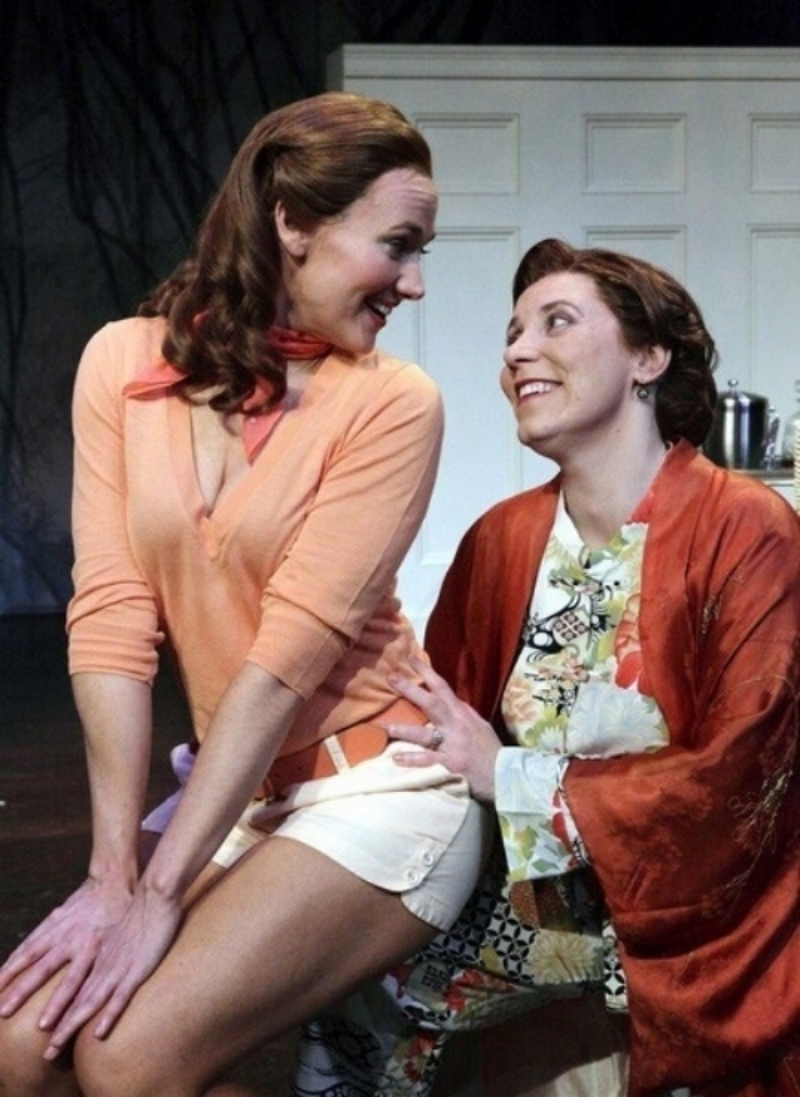 "with Aimee Doherty in Lyric Stage Company's ""Grey Gardens"""