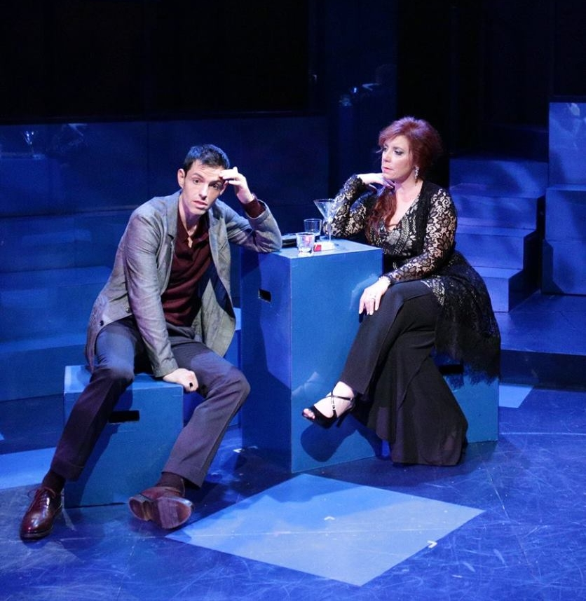 "with John Ambrosino in Lyric Stage Company's ""Company"""