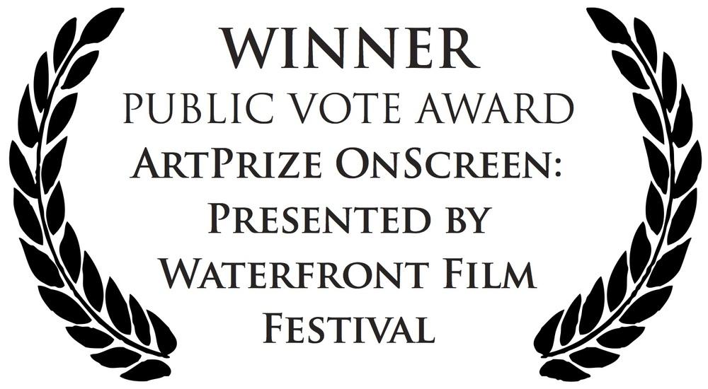 WINNER PUBLIC VOTE AWARD ARTPRIZE ONSCREEN: PRESENTED BY WATERFRONT FILM FESTIVAL
