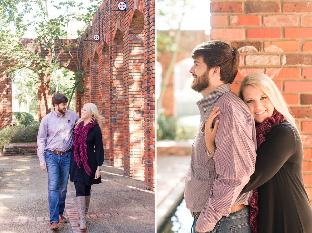 Starkville-Mississippi-Autumn-Engagement