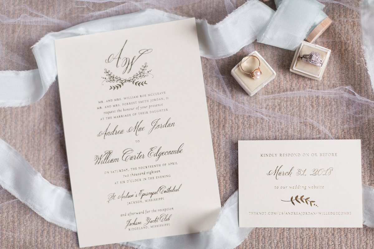 Jackson, Mississippi Yacht Club Spring Wedding | Andrea & Will — Amy ...
