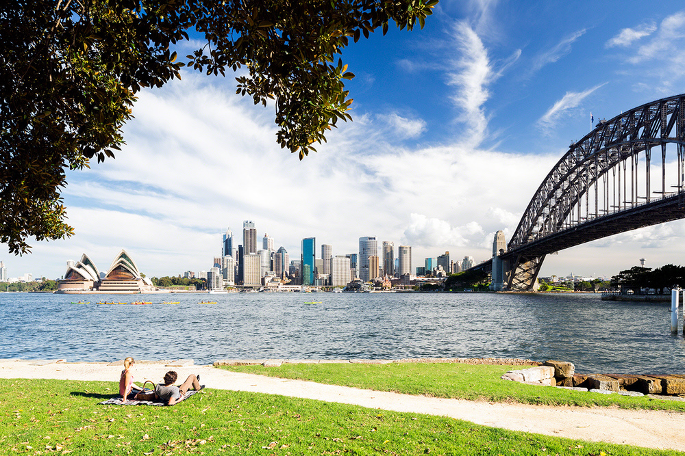 SYDNEY FORESHORE FOR DESTINATION NSW