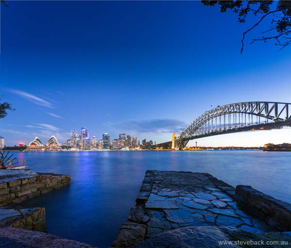 Lifestyle Tourism Photography: City from Kirribilli for Destination New South Wales.