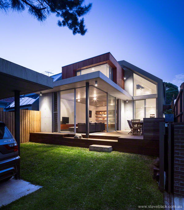 Architectural Photography:  Balmain House for MCK Architects