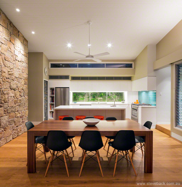 Architectural Interiors Shoot:  Kitchen and Dining Room of Dalkeith House for McNally Architects, Sydney