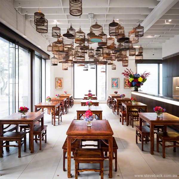 Chinese Tea Room at White Rabbit Gallery, Sydney for White Rabbit Gallery