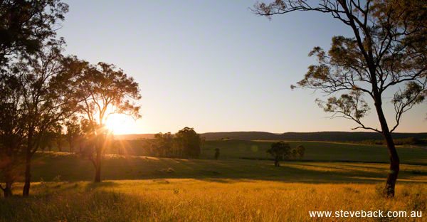 Property Development lifestyle landscape shot at Mulgoa for Quadrant Creative