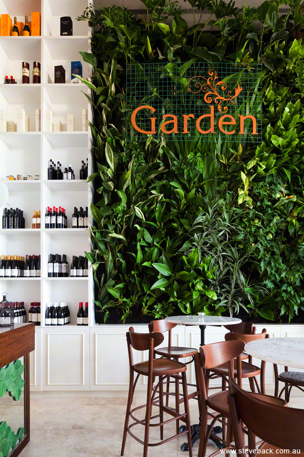 Garden Restaurant for Valmont Interiors