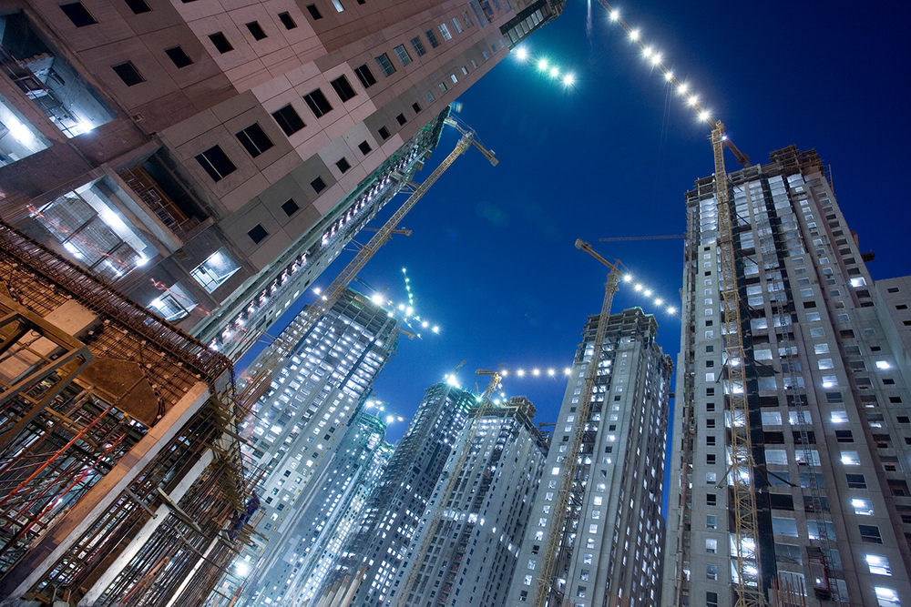 DUBAI MARINA CONSTRUCTION FOR INSIDE MAGAZINE