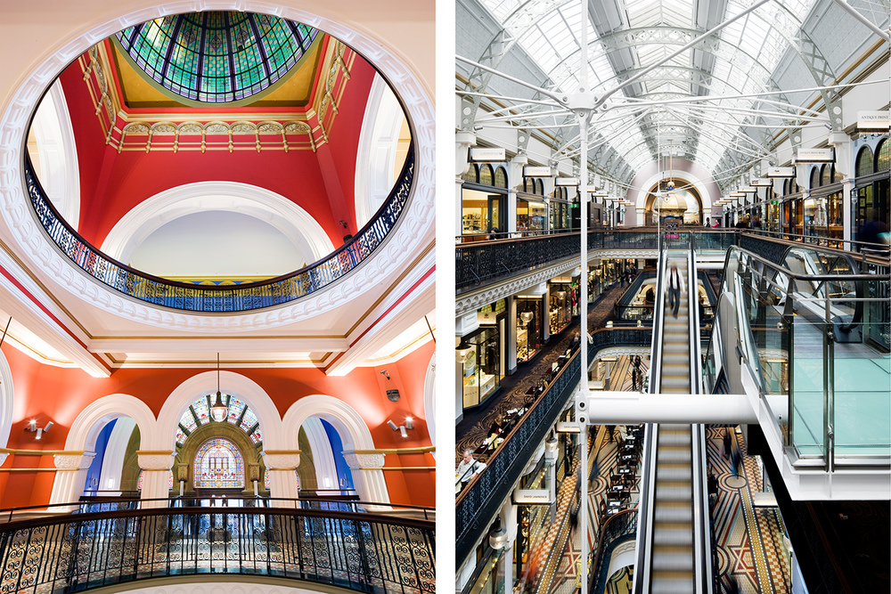 QVB REFURBISHMENT FOR BUILT