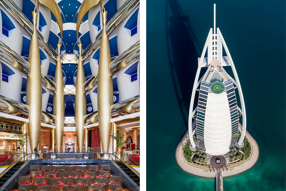 BURJ AL ARAB FOR INSIDE MAGAZINE