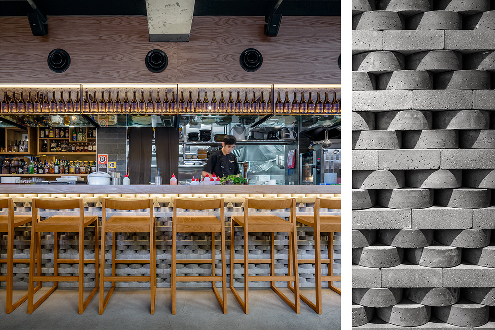 TOKONOMA RESTAURANT FOR STONE OUTDOORS