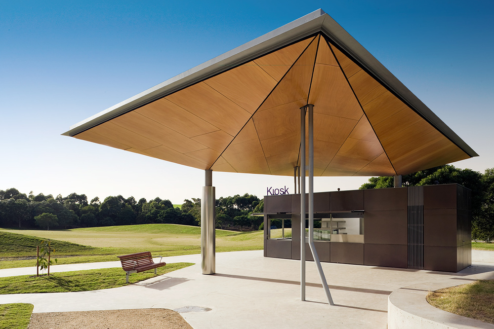SYDNEY PARK KIOSK FOR STANIC HARDING ARCHITECTS
