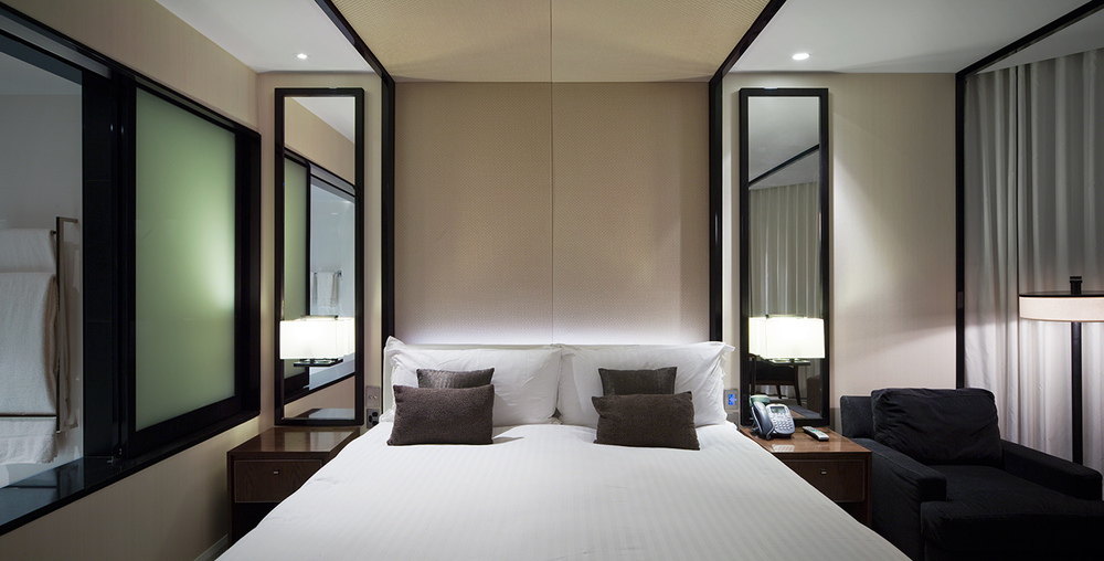ROOM SHOT FOR CROWN HOTELS, PERTH AND BLAINEY NORTH AND ASSOCIATES
