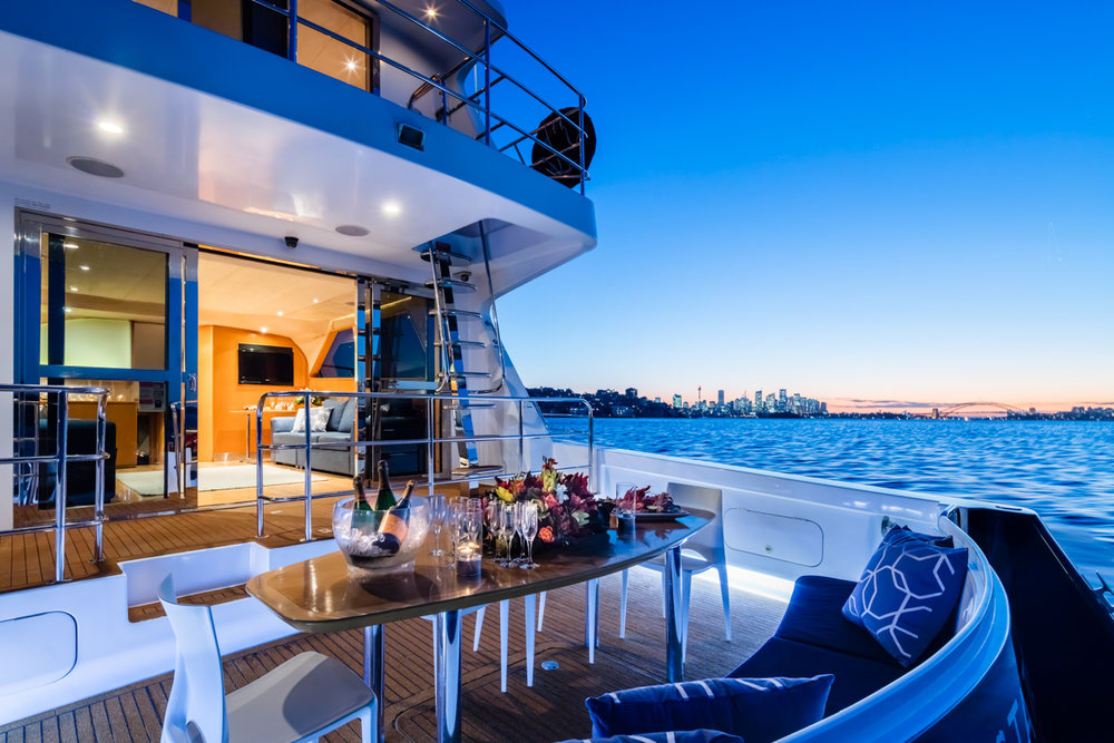 STATE OF THE ART FOR SYDNEY HARBOUR YACHT CHARTERS