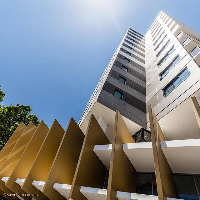 Wolli Creek apartments for Tony Owen.... #tonyowenpartners #cahillgardens #wollicreek #architecturephotography #architecture