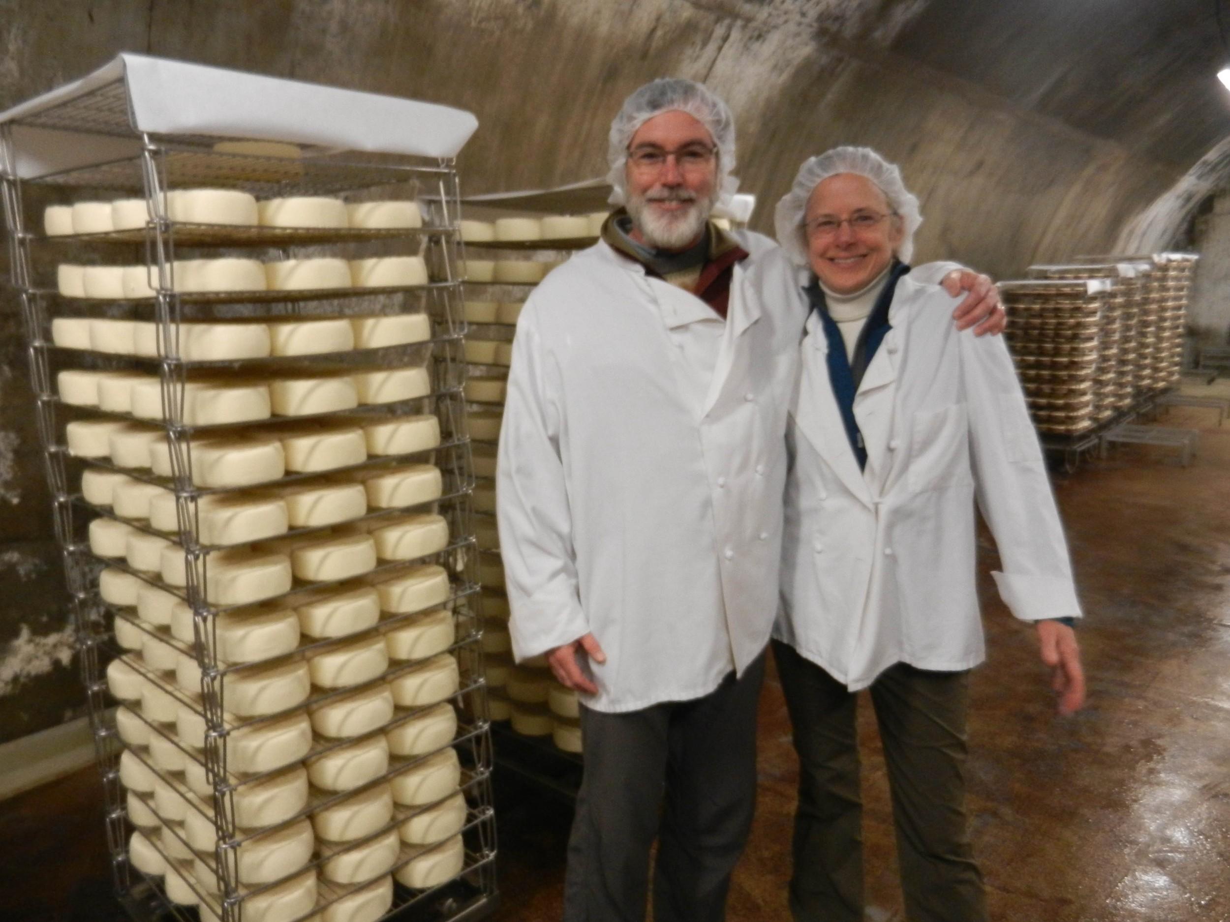 Richard & Sherri at Jaspar Cellars in Vermont