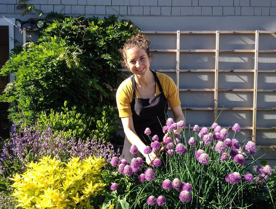 Hannah in Flowers