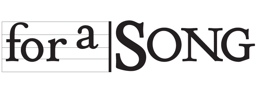For a Song Logo
