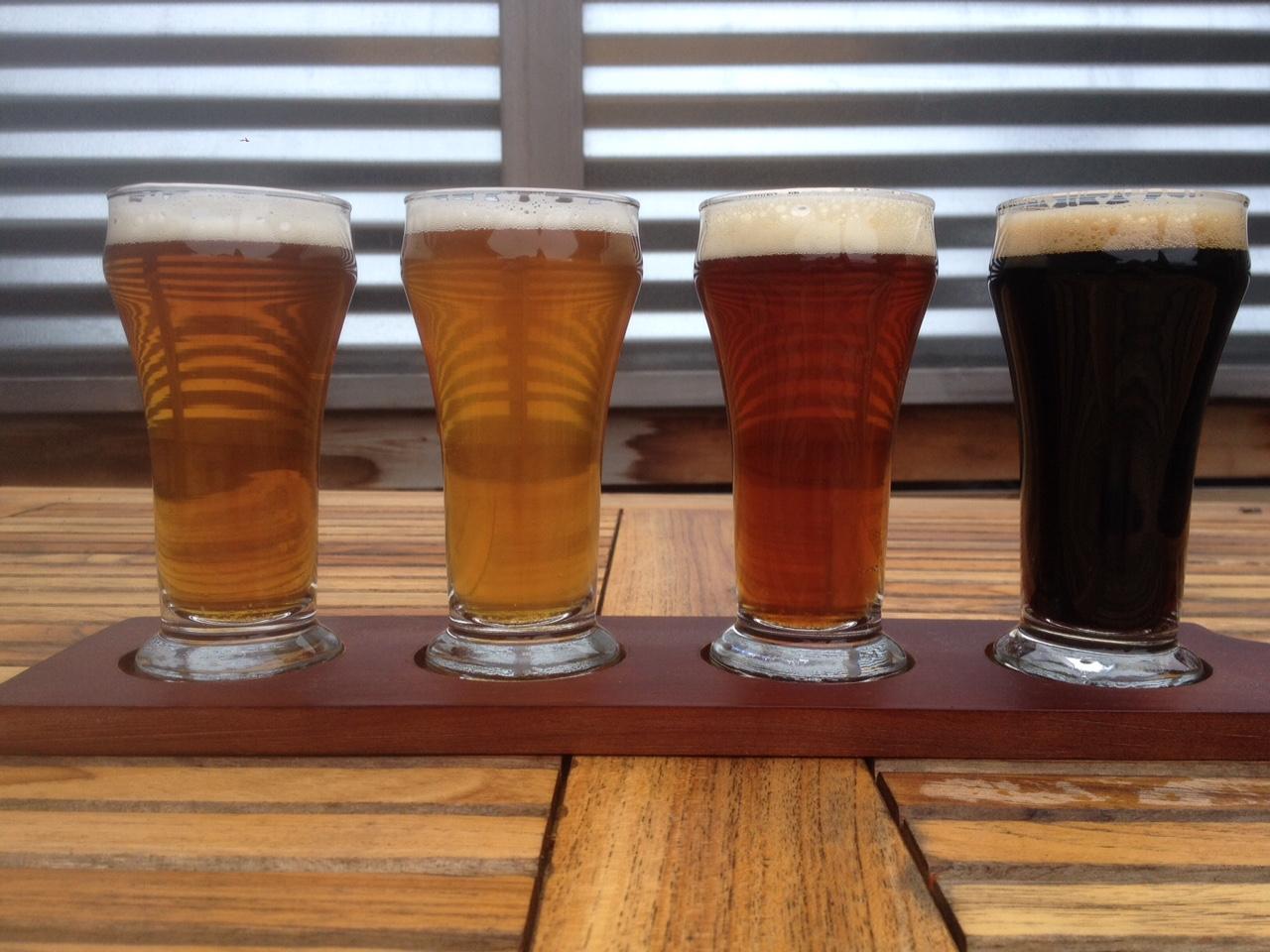 Island Hoppin' Brewery Beer
