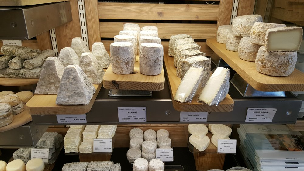 Aged goat cheeses