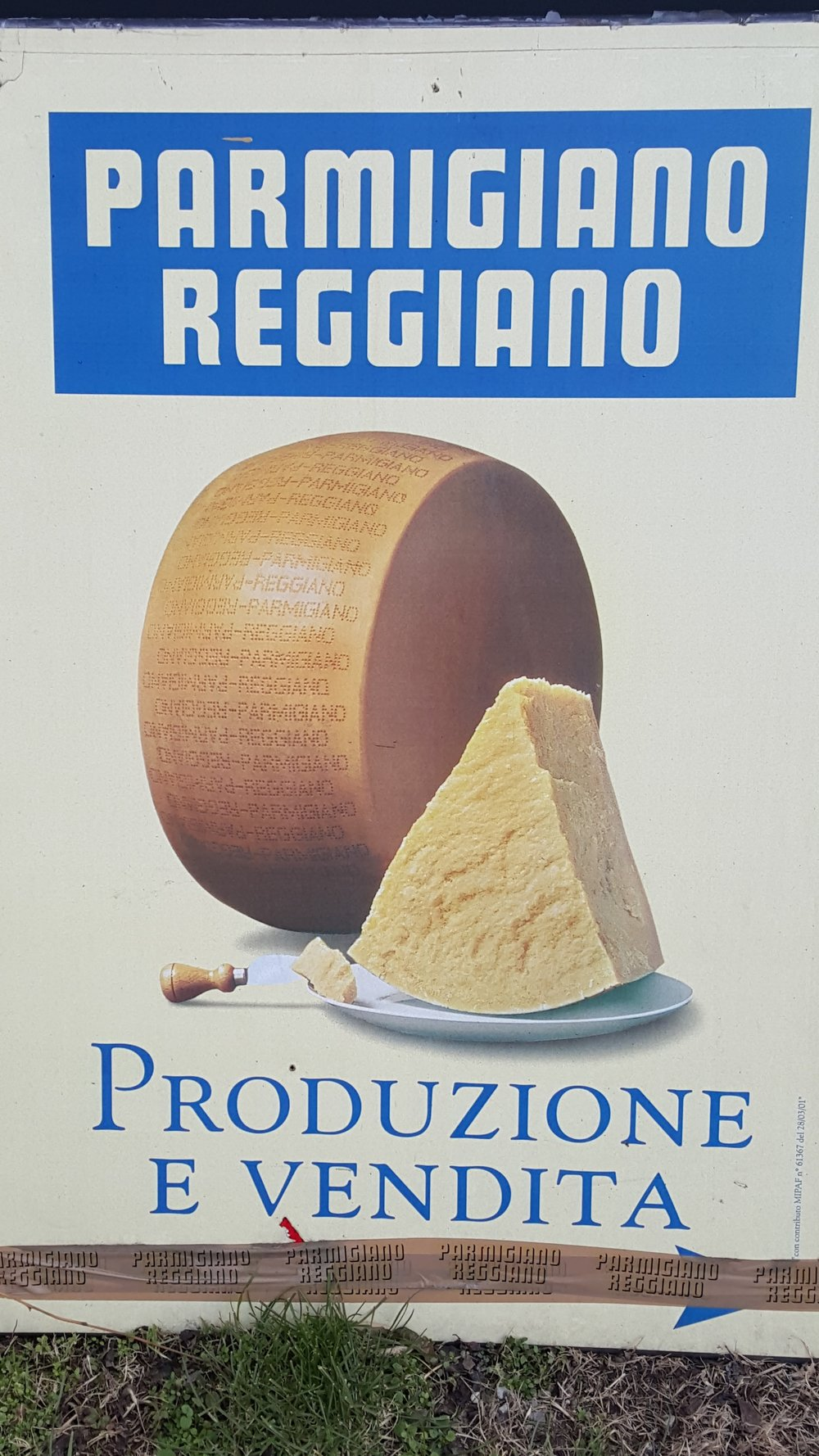 Start of private tour of Parmigiano Reggiano creamery