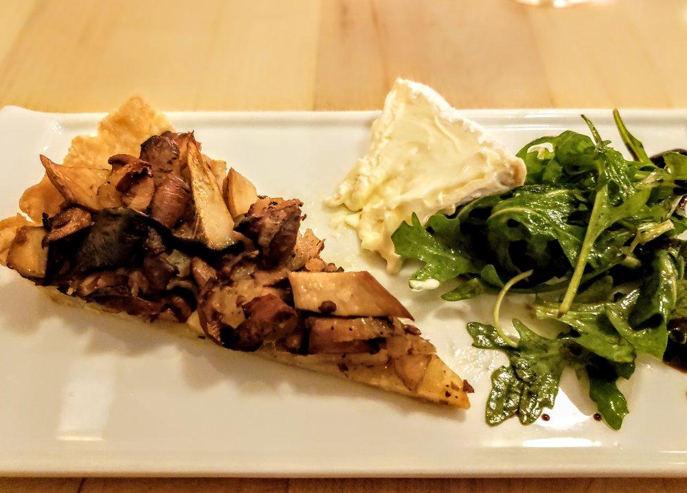 Wild Mushroom & Caramelized Shallot Tart