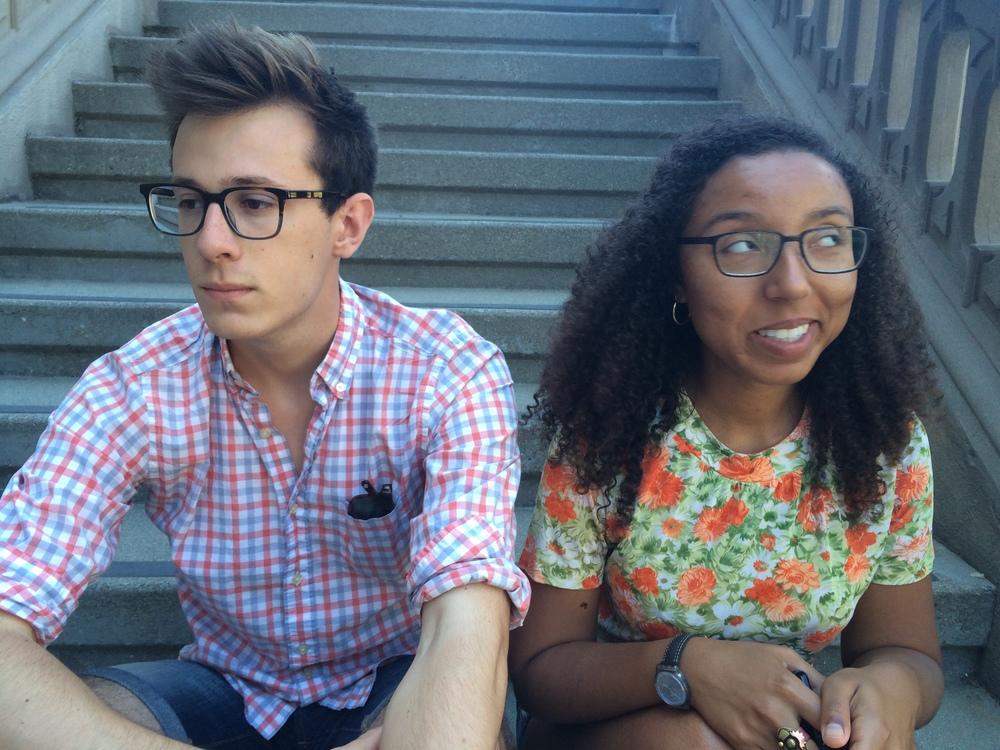 Bonus picture: Laurnie and I in Berkeley.