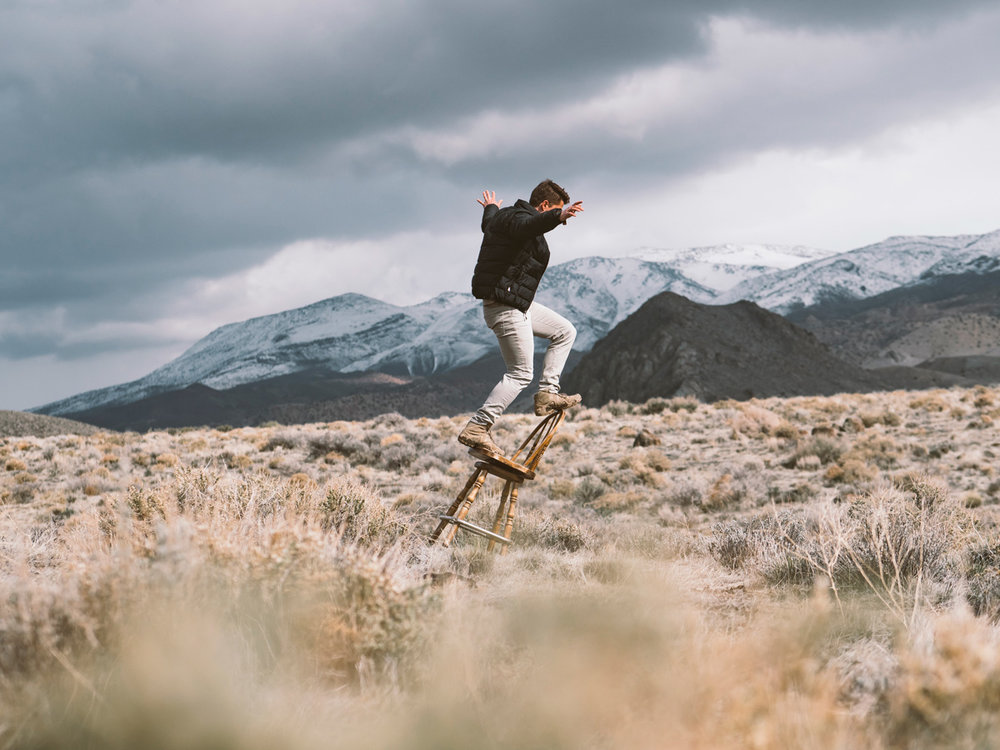 Man chair surfing in the wilderness.jpg