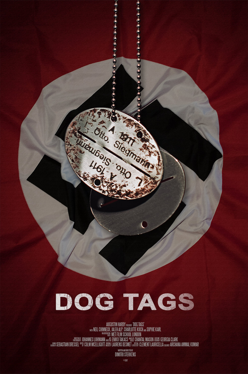 Dog Tags, an original fiction idea for a new TV series - Created by Augustin HardyDiscover more at www.dogtagsfilm.com