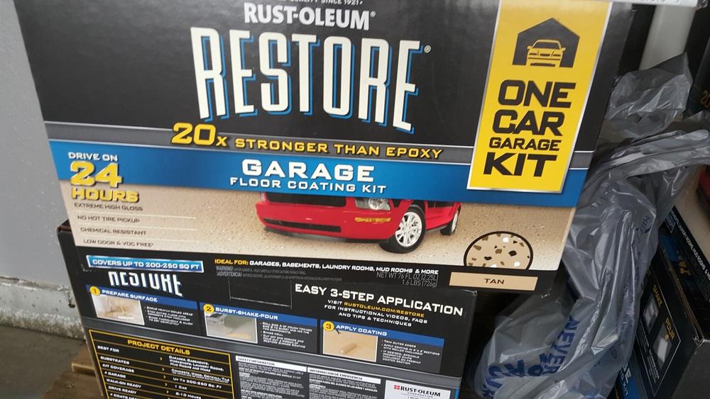 Rustoleum Floor System