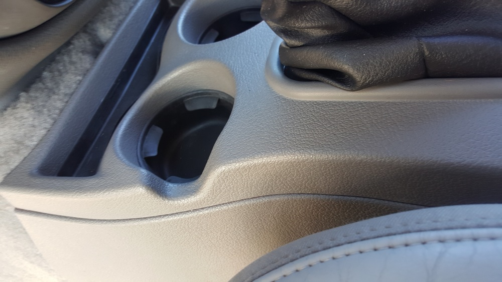 After, Cup holders