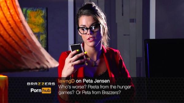 Quem é pior? Peeta dos Jogos Vorazes? Ou Peta do Brazzers?