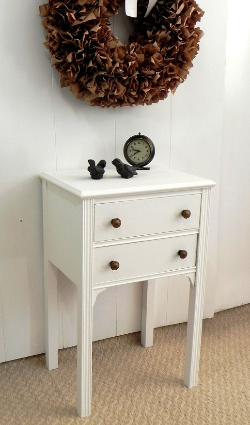 Vintage Nightstand or Side Table $225.00