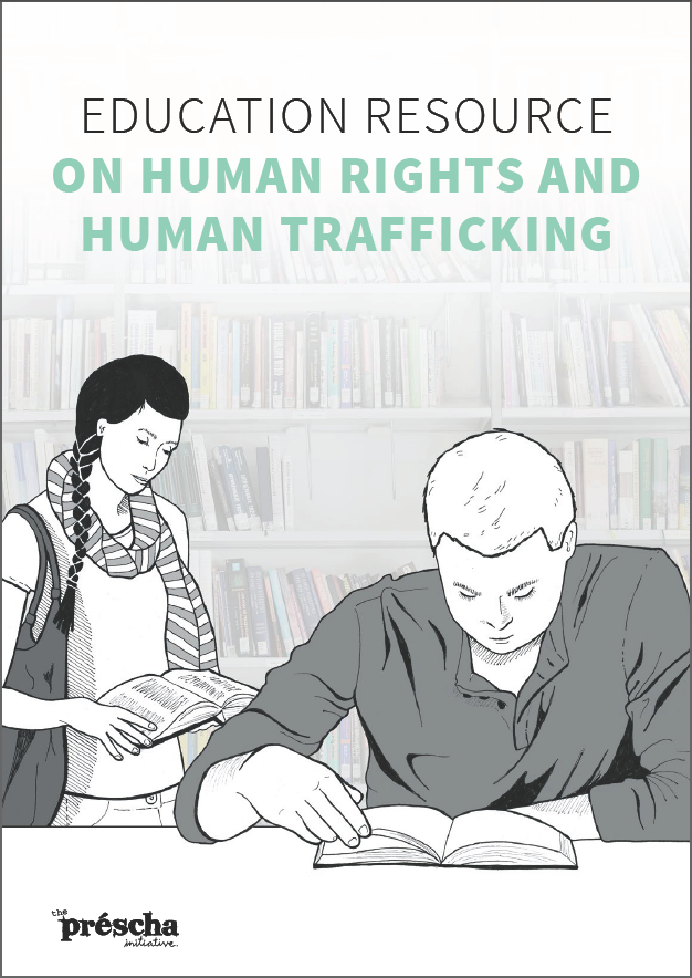 Prescha Education Resource on Human Rights and Human Trafficking Cover.png