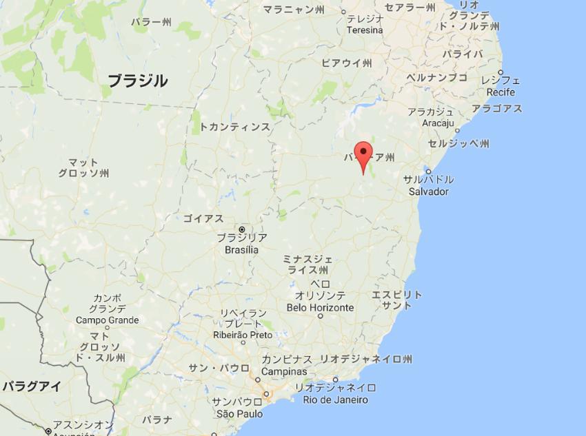 バイーア州州都のサルバドルはブラジル第三位の人口を有する港湾都市