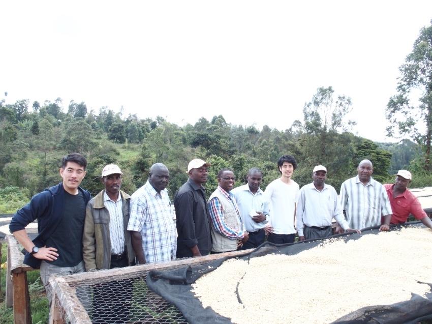 2016年12月に訪れたケニアのKaMWANGI Factory