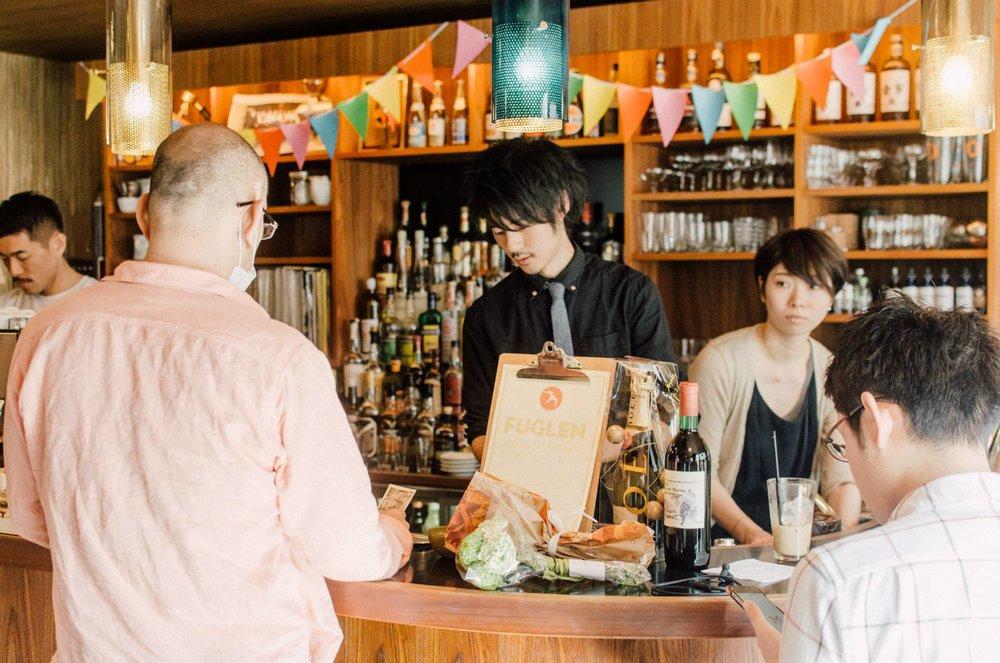 FUGLEN TOKYO 3周年。 Buesaco Espressoを提供した