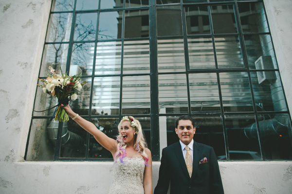 Loft San Diego Wedding on Ruffled Blog