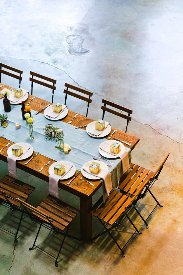 Luce Loft Wedding on Ruffled Blog
