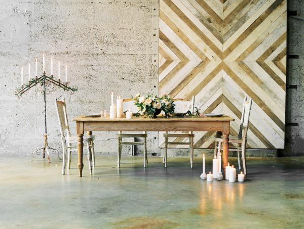 Romantic Loft Wedding Inspiration on SMP