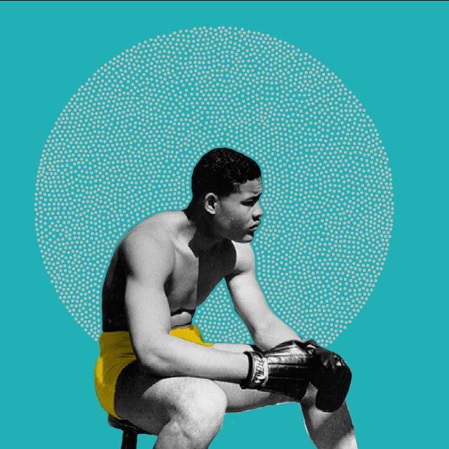 Joe Cool - Joe Louis. . . . . #illustree #illustration #illustratorsofinstagram #illustrator #photoshop #drawing #penandink #papercutout #graphic #graphicdesign #design #art #designspiration #behance #aiga #contemporaryart #artist #artistsofinstagram #artdirection #collage #joelouis #detroit #grandrapidsartist #geometric #boxing #boxinglife