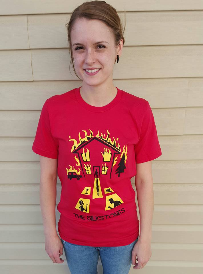 Red House On Fire Shirt $20