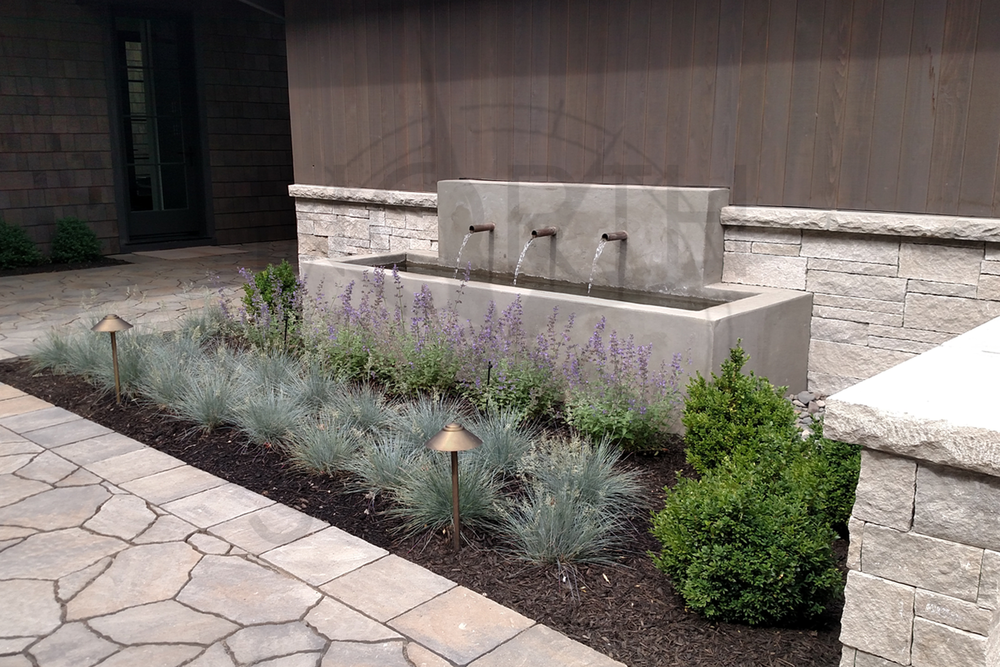 Trough-style Water Feature