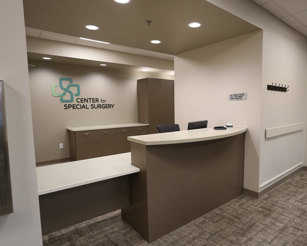 Center for Special Surgery is ready to welcome you and your guests in a small, friendly and efficient facility.