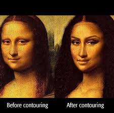 If Mona Lisa had today's  Makeup Artist...