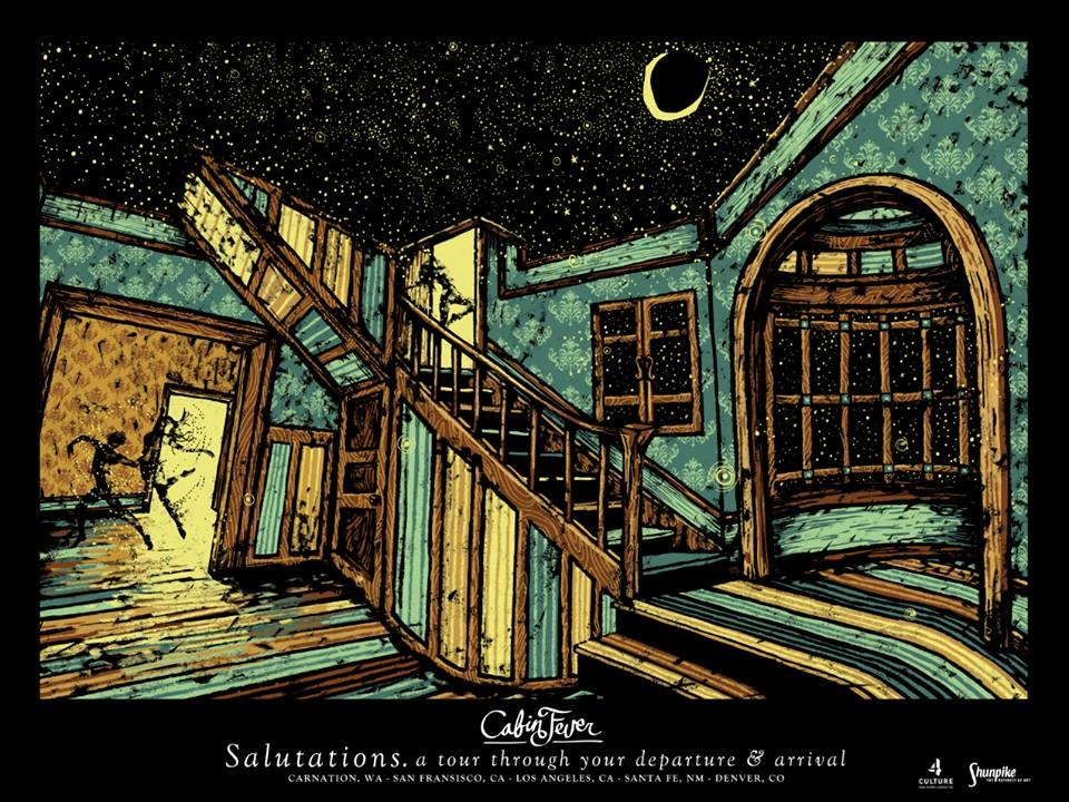 James Eads poster based on The Agape House